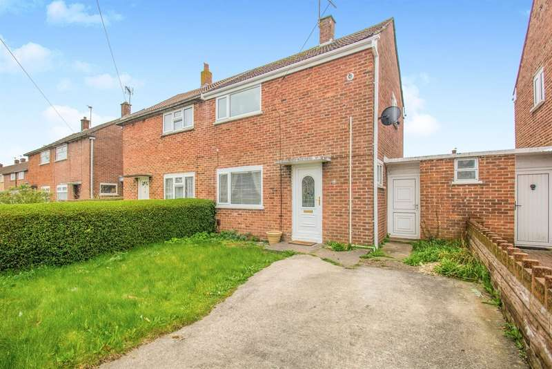 2 Bedrooms Semi Detached House for sale in Countisbury Avenue, Llanrumney, CARDIFF
