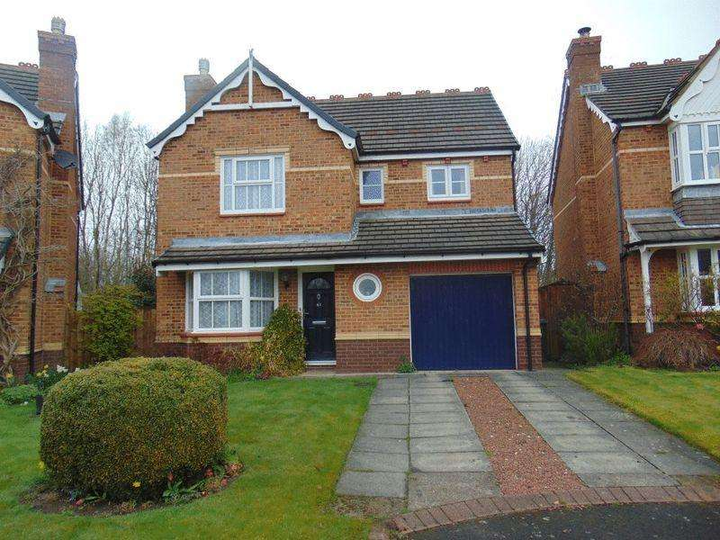 4 Bedrooms Detached House for sale in Clousden Grange, Forest Hall, Newcastle Upon Tyne