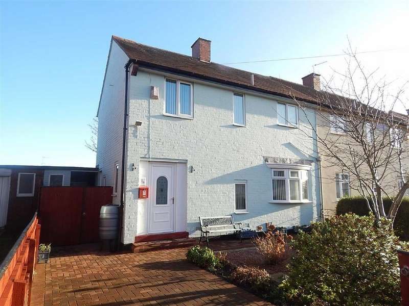 3 Bedrooms Semi Detached House for sale in Callerton Avenue, North Shields, Tyne And Wear, NE29