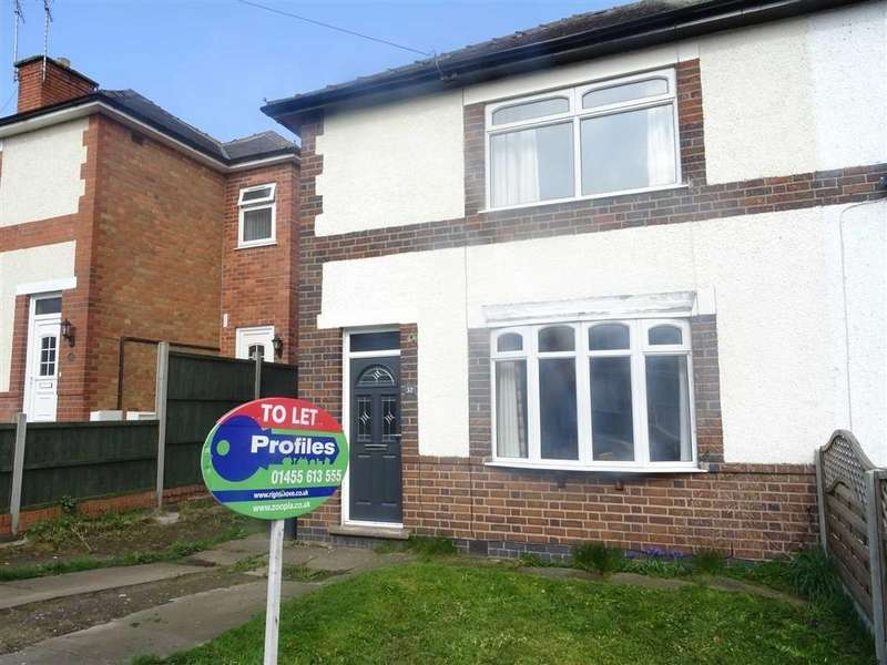 2 Bedrooms Semi Detached House for rent in Woodland Avenue, Burbage