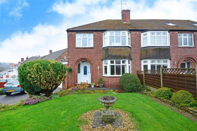 3 Bedrooms Semi Detached House for sale in 67, Chatsworth Road, Dore, Sheffield, S17