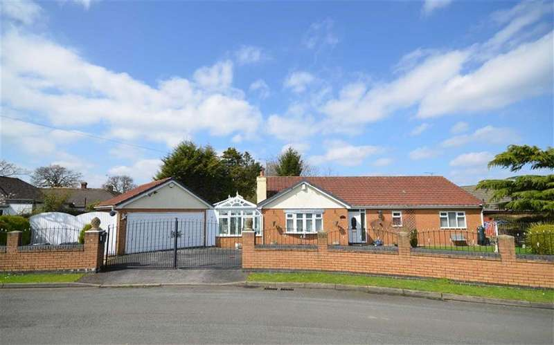 3 Bedrooms Detached Bungalow for sale in Regal Close, Great Sutton, CH66