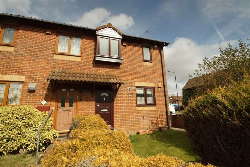 2 Bedrooms Semi Detached House for sale in Raleigh Close, Windsor Meadows, Cippenham