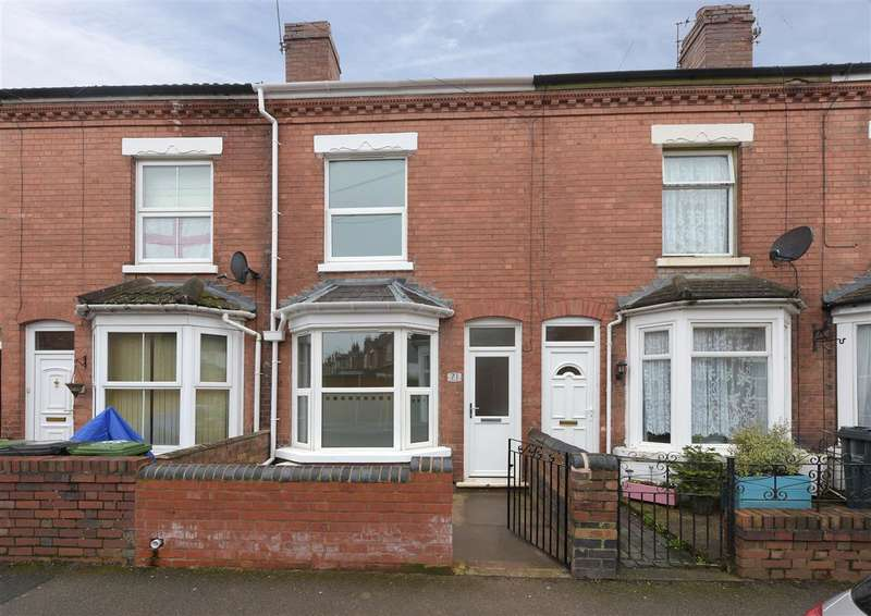 2 Bedrooms Terraced House for sale in Vauxhall Road, Worcester