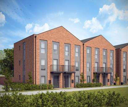 3 Bedrooms Town House for sale in Wolsey Island, Abbey Park Road, Leicester