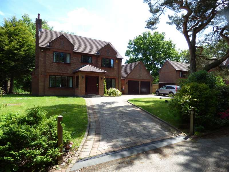4 Bedrooms Detached House for sale in Dumbreeze Grove, Knowsley, Prescot, Merseyside, L34