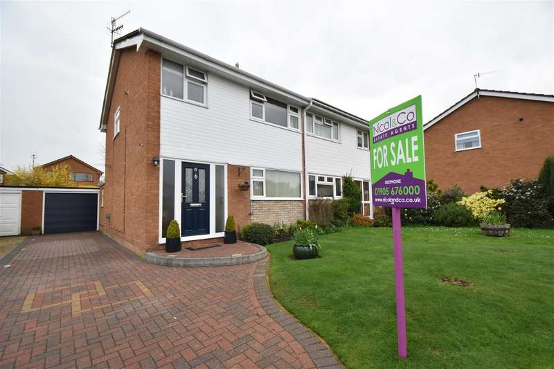 3 Bedrooms Semi Detached House for sale in Yew Tree Lane, Fernhill Heath, Worcester