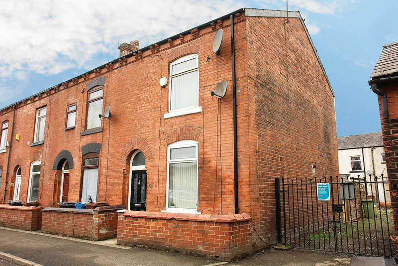 2 Bedrooms End Of Terrace House for sale in Granby Street, Chadderton