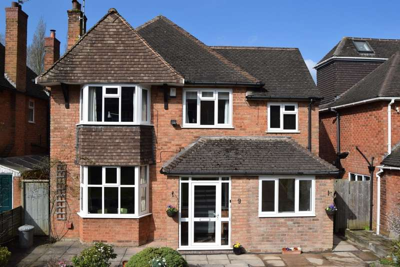 4 Bedrooms Detached House for sale in Dorchester Drive, Harborne
