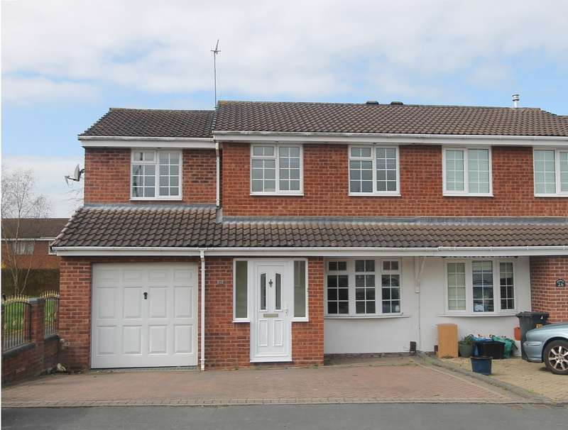 3 Bedrooms Semi Detached House for sale in Rosemoor Drive, Amblecote, Brierley Hill, DY5