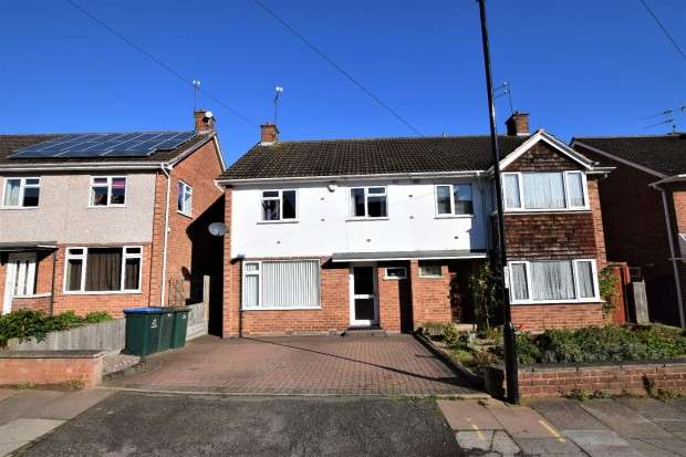 3 Bedrooms Semi Detached House for sale in Stonebury Avenue, Eastern Green, Coventry, CV5