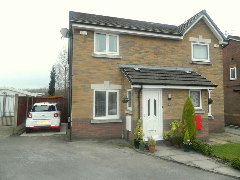 2 Bedrooms Semi Detached House for sale in Laverton Close, Heap Bridge, Bury, BL9