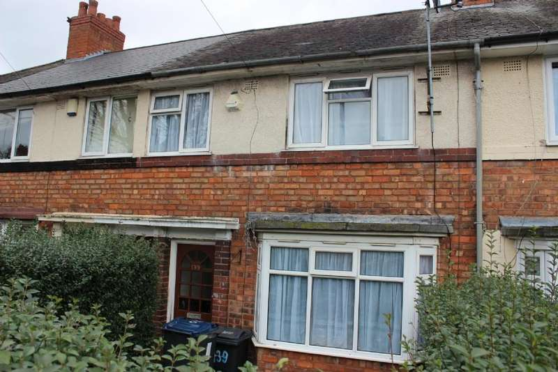 3 Bedrooms Terraced House for sale in Finchley Road Kingstanding Birmingham B44