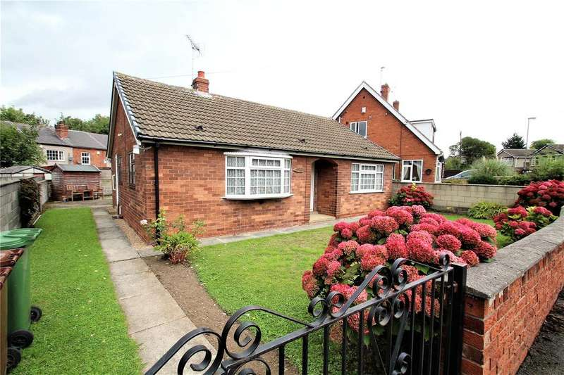 2 Bedrooms Detached Bungalow for sale in Grange Close, Knottingley, WF11