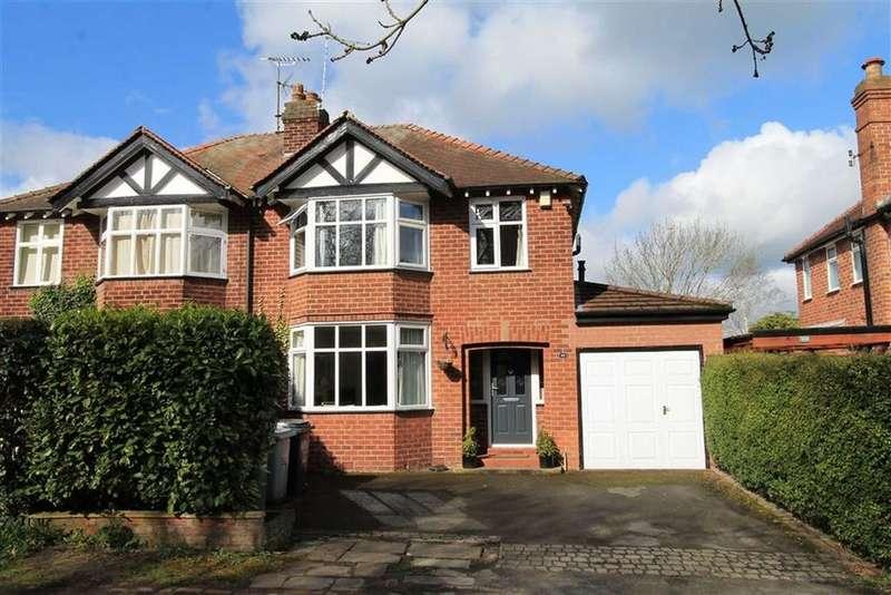 3 Bedrooms Semi Detached House for sale in Moss Lane, Alderley Edge