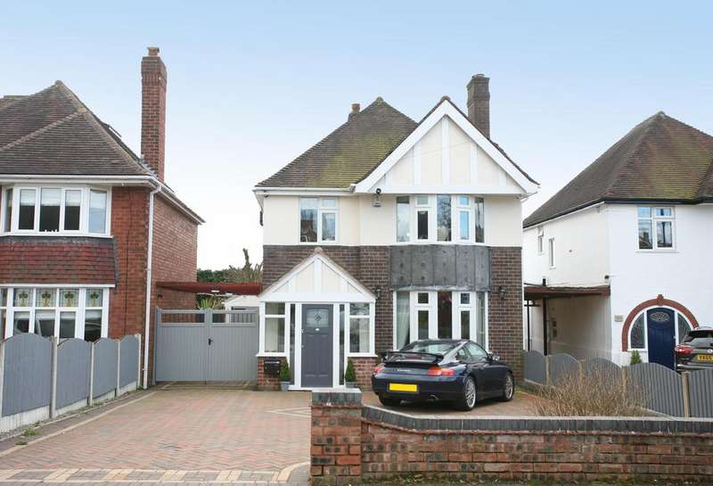 3 Bedrooms Detached House for sale in 106 Hatherton Road, Cannock, WS11 1HH