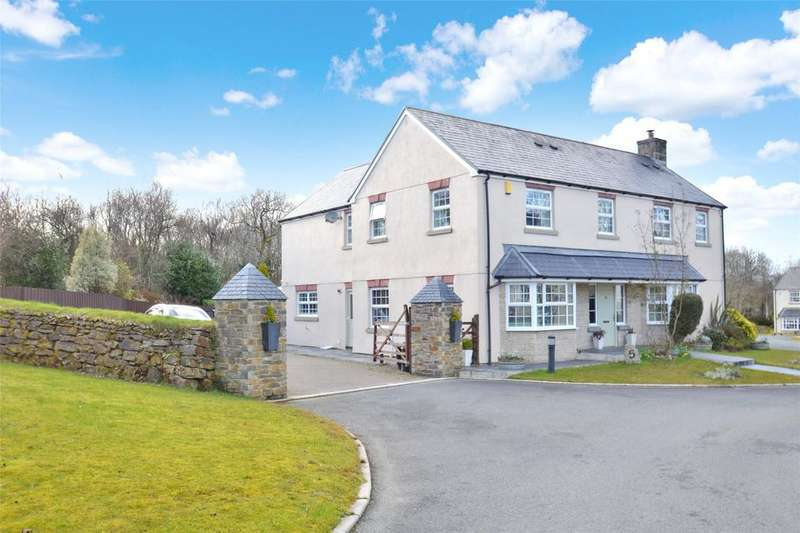 4 Bedrooms Detached House for sale in Oak Ford, Lanhydrock