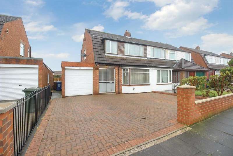 3 Bedrooms Semi Detached House for sale in Caldwell Road, Newcastle Upon Tyne