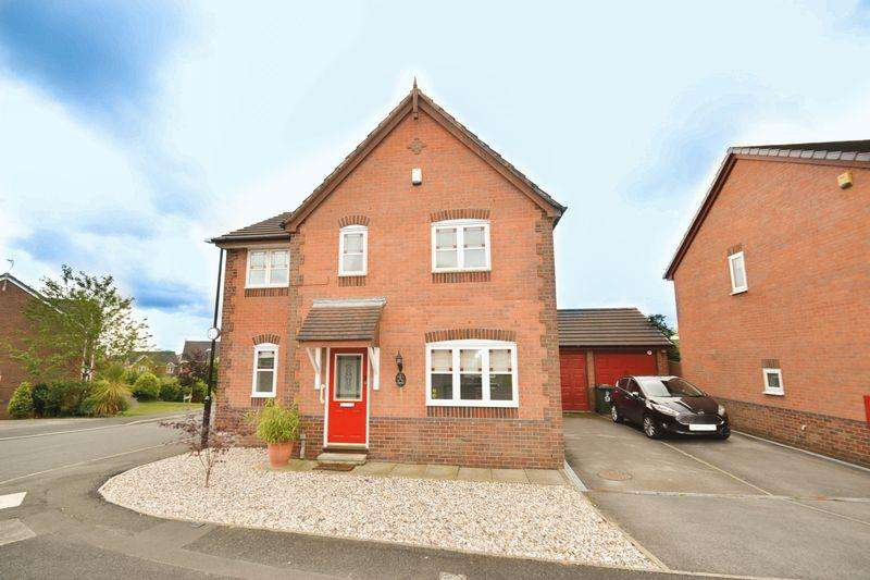 3 Bedrooms Detached House for sale in Cross Keys Drive, Whittle-Le-Woods, Chorley
