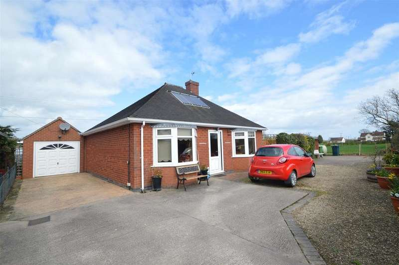 2 Bedrooms Detached Bungalow for sale in Coppice Bungalow, Cruckmeole, Shrewsbury, SY5 8PW