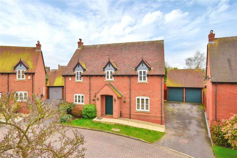 4 Bedrooms Detached House for sale in Dales Close, Rempstone, Loughborough