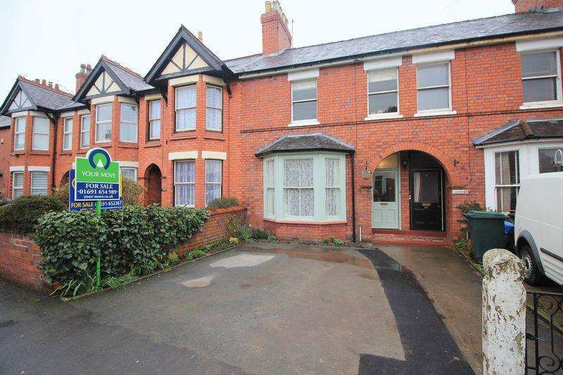 4 Bedrooms Terraced House for sale in Roft Street, Oswestry
