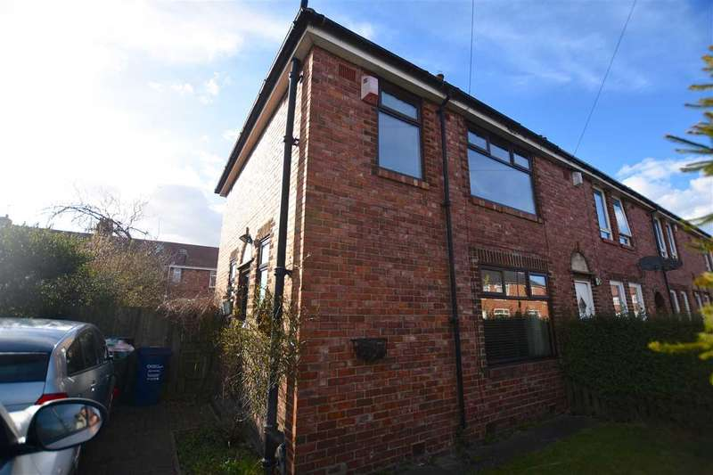 3 Bedrooms End Of Terrace House for sale in Cleadon Street, Newcastle upon Tyne