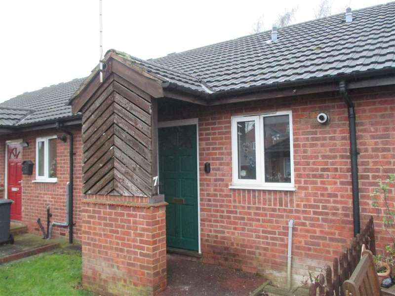 2 Bedrooms Bungalow for sale in Wroughton Court, Eastwood, Nottingham