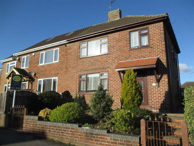 3 Bedrooms Semi Detached House for sale in Flamstead Avenue, Loscoe