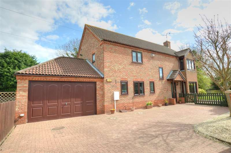 4 Bedrooms Detached House for sale in Washdyke Lane, Leasingham