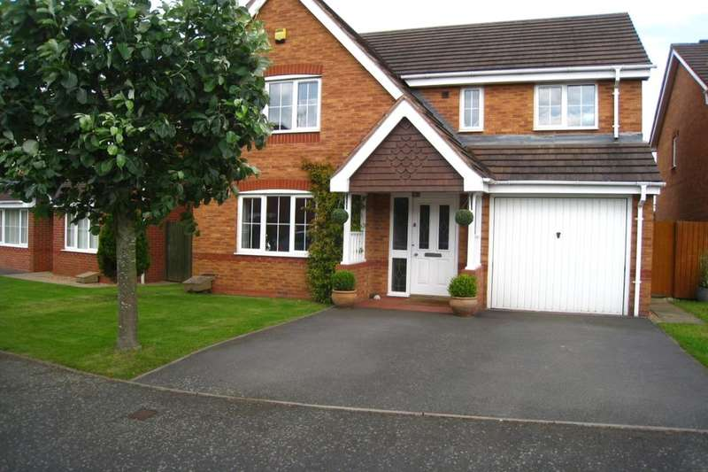 4 Bedrooms Detached House for sale in Mercers Meadow, Keresley End, Coventry, CV7