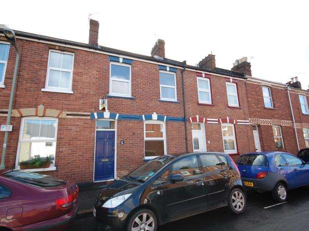 2 Bedrooms Terraced House for sale in Radford Road, St Leonards, Exeter, Devon