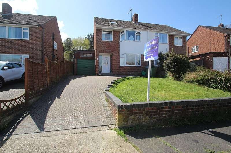 4 Bedrooms Semi Detached House for sale in Beaufort Avenue, Fareham
