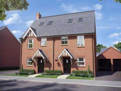 3 Bedrooms Semi Detached House for sale in Buckton Fields, Northampton