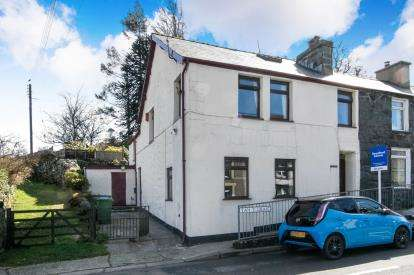 5 Bedrooms End Of Terrace House for sale in Tan Y Graig, Rhyd Ddu, Caernarfon, LL54