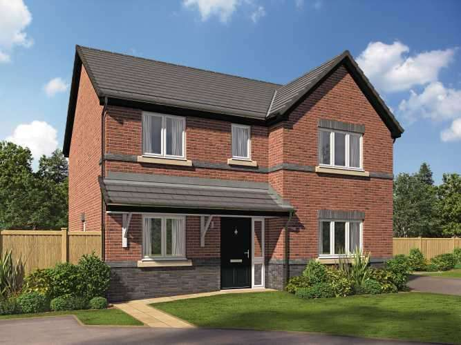 4 Bedrooms Detached House for sale in Plot 44, The Larkspur, Riversleigh, Warton, Preston, Lancashire, PR4 1AH