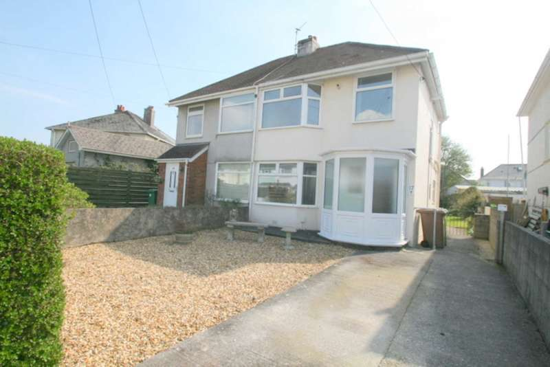 3 Bedrooms Semi Detached House for sale in Randwick Park Road, Plymstock