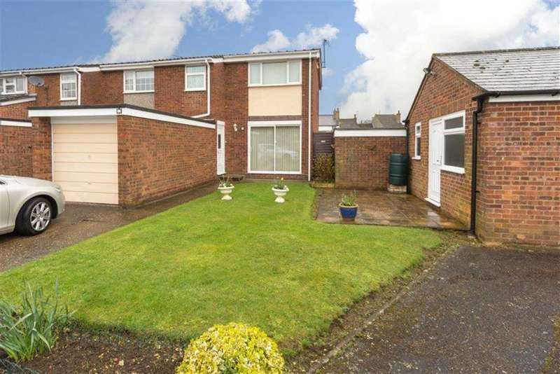 3 Bedrooms End Of Terrace House for sale in Mander Close, Toddington
