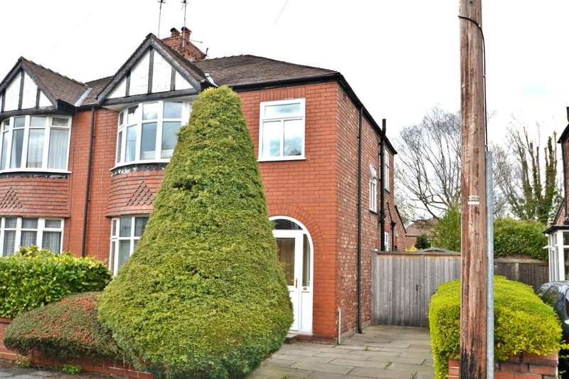 3 Bedrooms Semi Detached House for sale in Lawson Avenue, Gatley