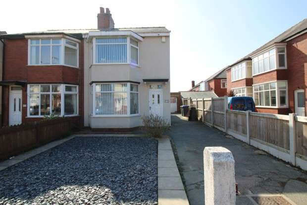2 Bedrooms Semi Detached House for sale in Goodwood Avenue, Blackpool, FY2