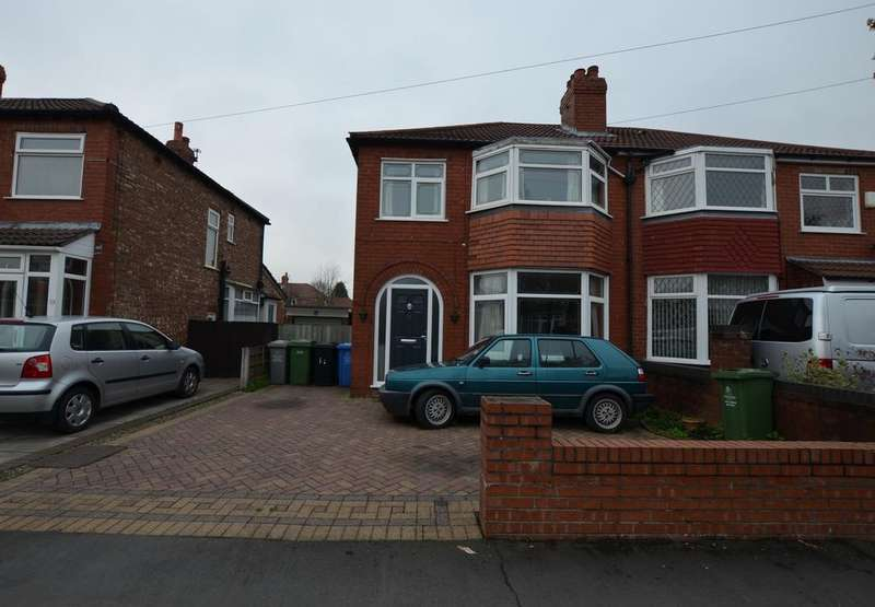3 Bedrooms Semi Detached House for sale in Olive Road, Timperley WA15