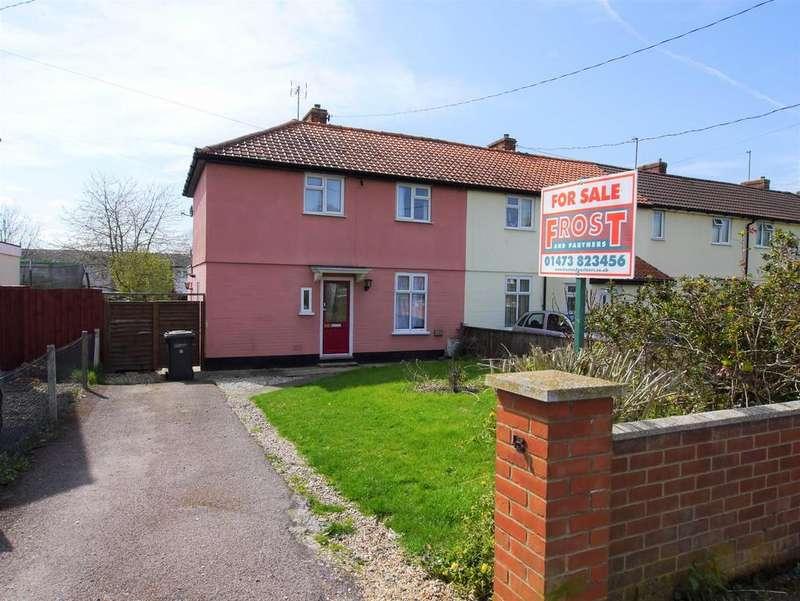 3 Bedrooms Semi Detached House for sale in Aldham Road, Hadleigh, Ipswich, Suffolk, IP7 6BJ