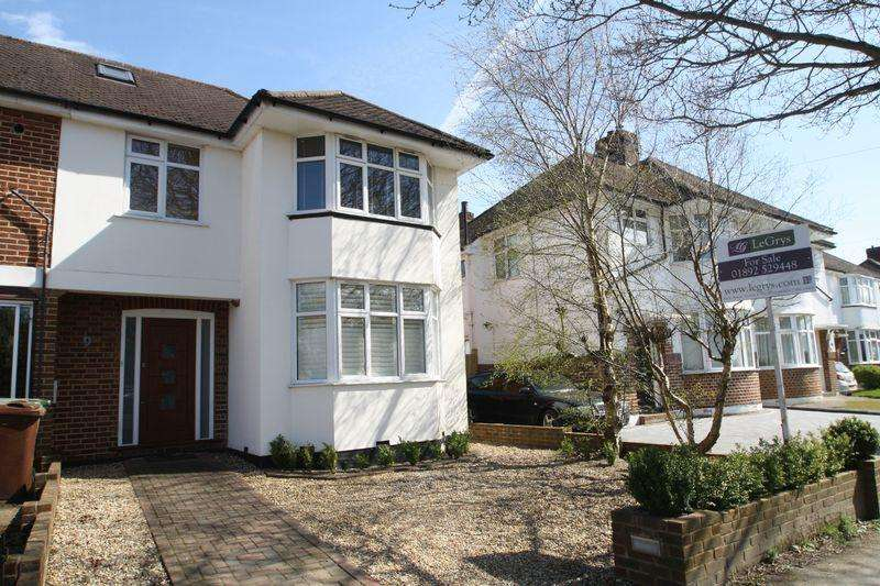 4 Bedrooms Semi Detached House for sale in Reynolds Lane, Tunbridge Wells