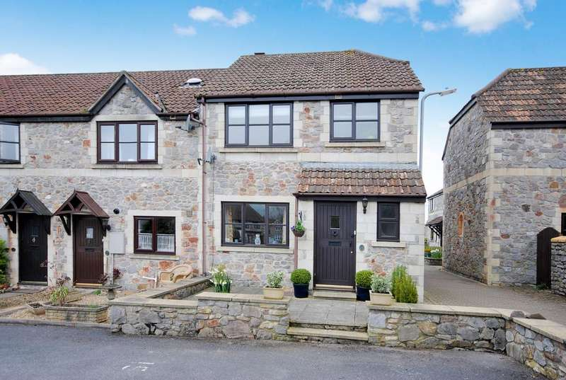 3 Bedrooms End Of Terrace House for sale in Wesley Mews, Cheddar