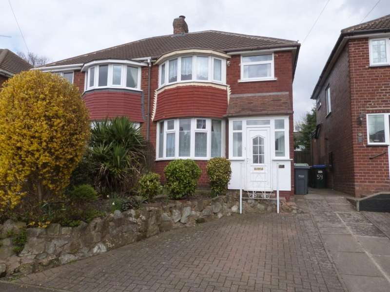 3 Bedrooms Semi Detached House for sale in Waddington Avenue, Great Barr