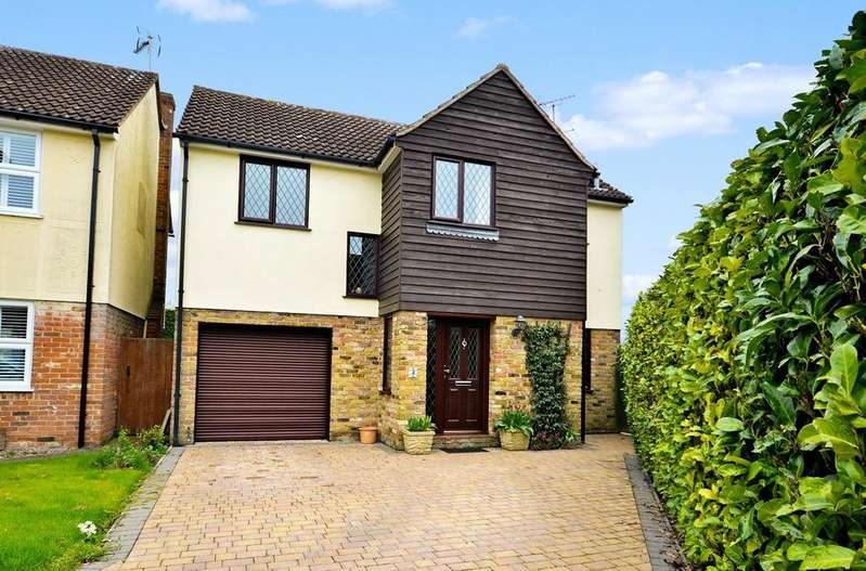 4 Bedrooms Detached House for sale in Leyfields, Rayne, Braintree, Essex, CM77