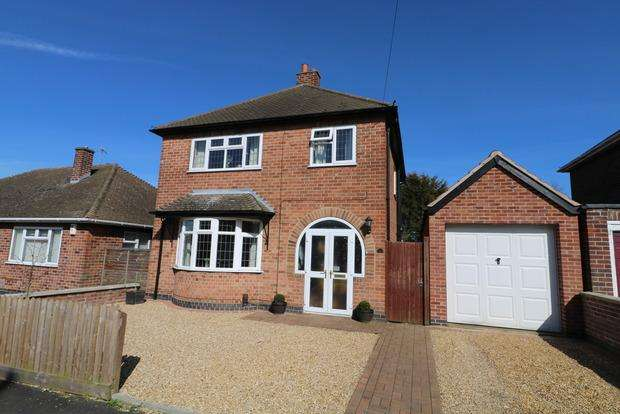3 Bedrooms Detached House for sale in Sussex Avenue, Melton Mowbray, LE13