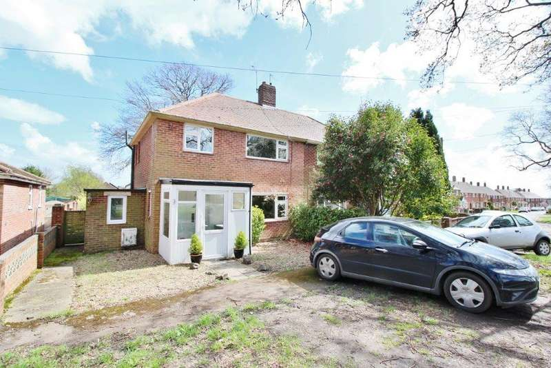 3 Bedrooms Semi Detached House for sale in Boundary road, Bursledon SO31