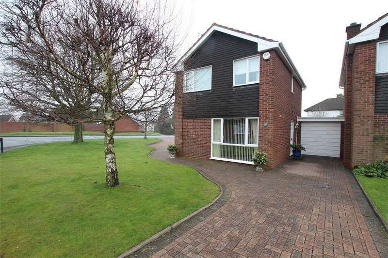 3 Bedrooms Link Detached House for sale in St Margarets Road, Lichfield, Staffordshire