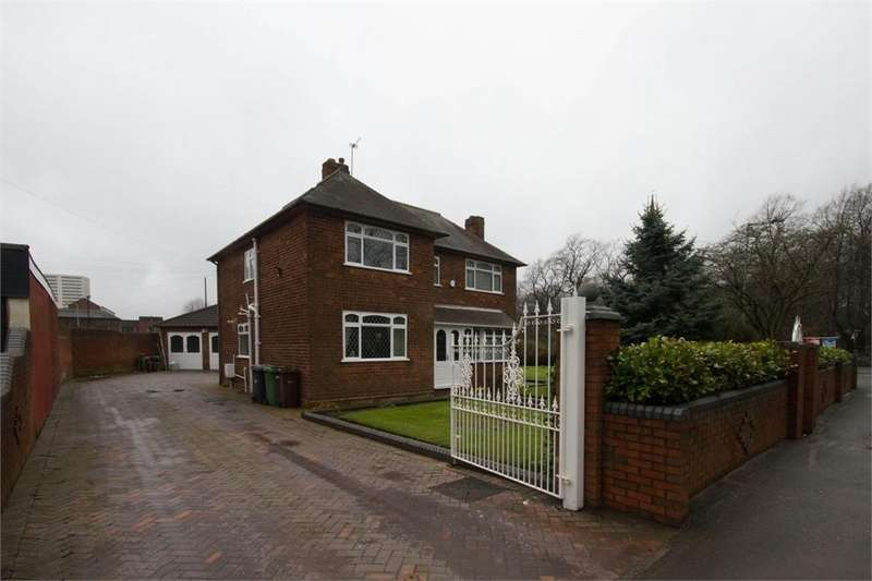 3 Bedrooms Detached House for sale in Church Street, Heath Town, WOLVERHAMPTON, West Midlands